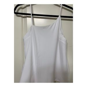 White one shoulder blouse